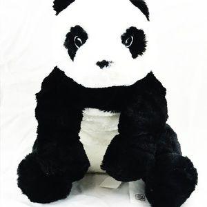 "IKEA Panda Bear Plush 11 3/4"" NWT  GB1"